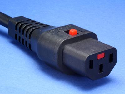 IEC-Lock - Selbstverriegelnder IEC Verbinder