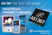 "austriamicrosystems introduces new ""Eco"" high speed linear regulator optimized for variable load currents"