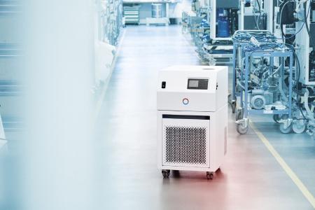 Les thermostats de process Variocool avec certification NRTL sont utilisés par un gros client du secteur pharmaceu-tique pour la production de vaccins contre la Covid-19