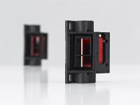 Neue Spezialhalterung für die Sensoren der Serie 25C zur Palettendetektion