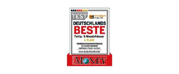 """""""Deutschlands Beste"""": FingerHaus mit Platz 1 in größter Untersuchung zur Kundenbewertung"""