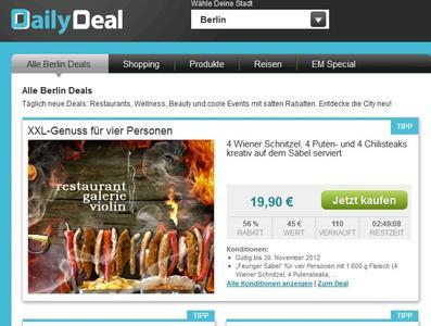 (Screenshot: dailydeal.de)