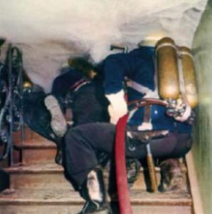 Preventive fire protection