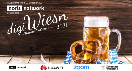 Die digiWiesn findet vom 18. September bis 3. Oktober statt – noris network ist Hauptsponsor