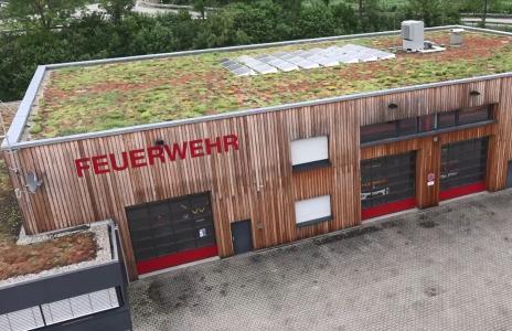 Die Feuerwache in Walheim versorgt sich selbst mit Strom – vor allem aber ist sie für den Notfall gerüstet
