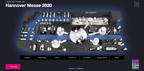 Rittal at Hannover Messe Digital Days 2020: Solutions for the industrial transformation - from IT rack to edge computing