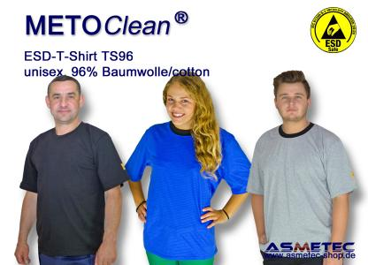 METOCLEAN ESD T-Shirts TS96K