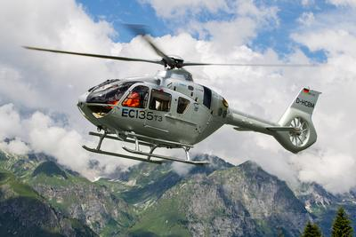Airbus Helicopters' EC135 T3/P3 takes on the Alps