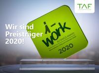 TAF ist Preisträger iWork 2020
