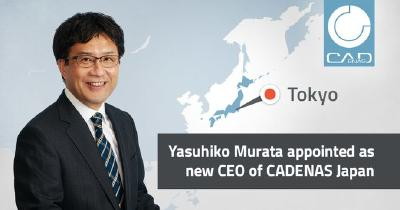 CADENAS WEB2CAD Inc. sets the course for the future with new CEO in Japan