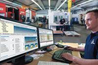 Die integrierte Lösung von Geovision richtet sich speziell an metallverarbeitende Betriebe / Foto: Geovision GmbH & Co. KG, Wagenhofen