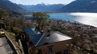 Das Solarstromdach der Villa Carlotta in Orselina im Tessin wurde mit dem Schweizer Solarpreis ausgezeichnet. ©Bild: Solaragentur