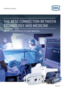 ODU presents new medical technology brochure.