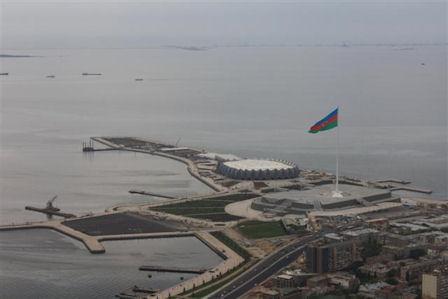 Die Baku Crystal Hall wurde extra für den Eurovision Song Contest gebaut