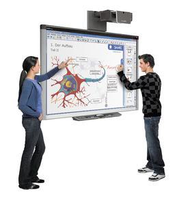 """Digitale """"Schultafeln"""" erobern Vorarlberger Schulen und machen modernes Lernen möglich / Foto: SMART Technologies"""