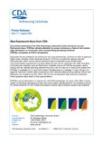 [PDF] Pressemitteilung: New fluorescent discs from CDA