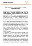 [PDF] Pressemitteilung: Zukunftsorientierter Branchenstandard für Energie-Management-Systeme