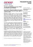 [PDF] Pressemitteilung: Aus der Auto-ID Business Unit der TTNI-E wird DENSO WAVE EUROPE