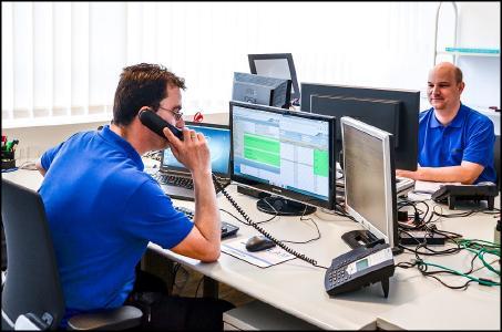 Serviceanfragen werden durch das Team kompetent, direkt und persönlich beantwortet.