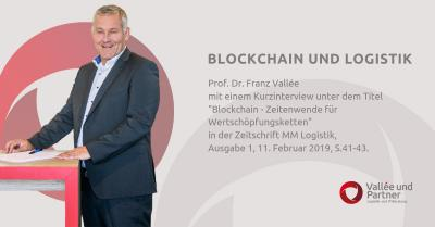 Interview mit Prof. Dr. Franz Vallée: Blockchain und Logistik