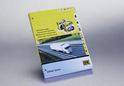 470 Seiten starke Kompetenz: Der neue LuK Katalog für Nutzfahrzeuge