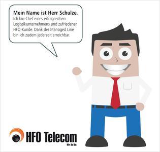 Herr Schulze erklärt die HFO Managed Line