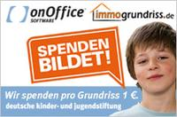Spendenaktion der onOffice Software GmbH und immogrundriss.de
