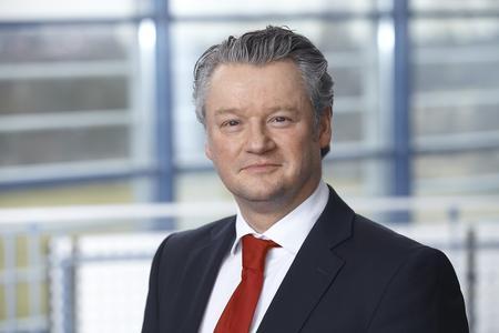 Arnd Thomas, Geschäftsführer der Dow Deutschland Anlagengesellschaft mbH