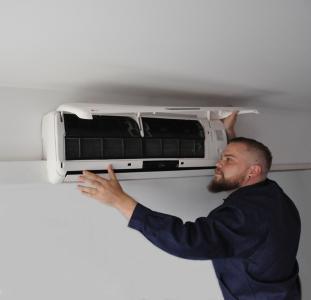 Klimaanlage im Gebäude
