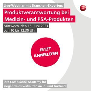 take-e-way Webinar Juni 2021 Produktverantwortung bei Medizin & PSA Produkten (Expertenrunde)