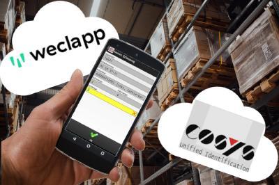 Kombination aus COSYS Warehouse Software und weclapp