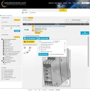 3D Daten von CADENAS jetzt im E-CAD-Portal wscaduniverse.com verfügbar
