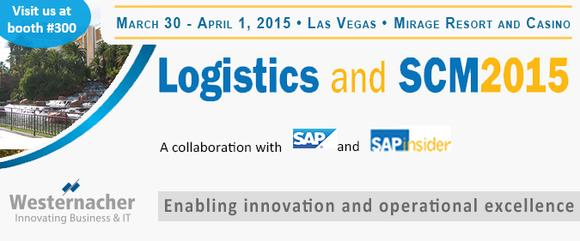 Westernacher at the Logistics & SCM 2015