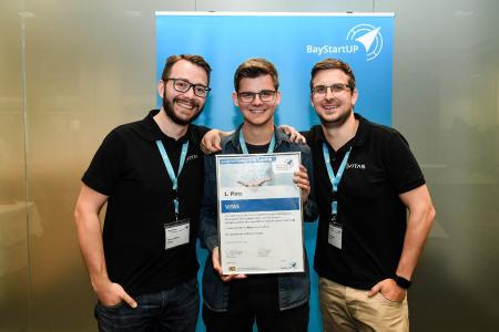 Sieger aus Phase 2 im Businessplan Wettbewerb Nordbayern: VITAS