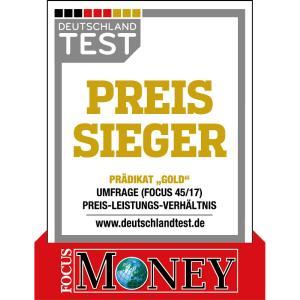 FOCUS MONEY Auszeichnung »Preissieger 2017« für die FingerHaus GmbH