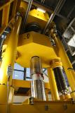 Abb. 2: GTM 10 MN Messeinrichtung mit eingebautem Zug-Kraftaufnehmer