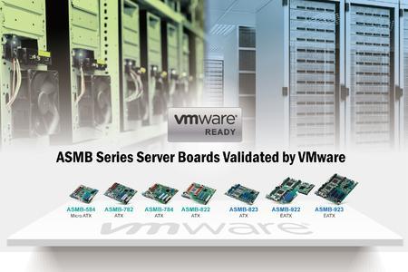 """Advantech-Serverboards der Reihe ASMB werden als """"VMware-ready"""" eingestuft"""