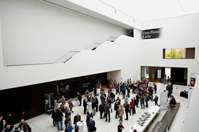 """230 Architekten trafen sich zum 18. Architektenforum im LWL-Museum in Münster, erkundeten unter dem Motto """"Alt und trotzdem Neu"""" das architektonische Münster und machten sich ein Bild davon, was städtebaulich in Münster passiert"""