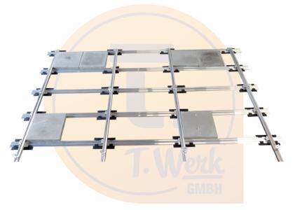 Dachdurchdringungsfreie Unterkonstruktion für Schrägdächer von T.Werk / Bild: Xpert.Digital