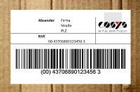 COSYS Lagerverwaltung für den GS1-128-Standard