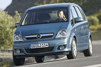 Opel Meriva: Shooting-Star beim TÜV-Report 2007