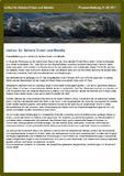 [PDF] Pressemitteilung: Verknappung der natürlichen Resourcen der Erde werden Rohstoffe zu einem kostbareren Gut