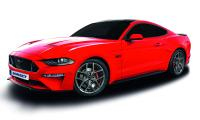 Temperamentvolles Duo: Ford Mustang Facelift mit BORBET Y