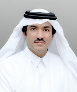 Der Vorsitzende der Qatar Free Zones Authority, S.E. Ahmad bin Mohammed Al Sayed