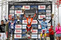 Second podium and first moto win for Roczen in Sweden