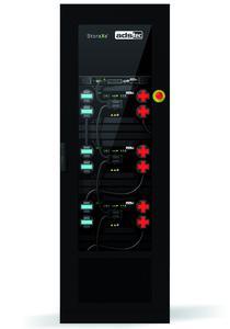 Das StoraXe® Home & Small Business System SRS2025 erfüllt wesentliche vom Karlsruher Institut für Technologie (KIT) geforderte Sicherheitsmerkmale und darüber hinaus noch viele mehr