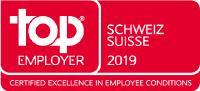 Top Employer Schweiz Logo 2019