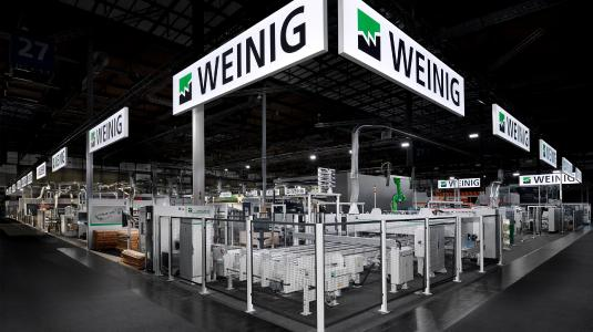 KECK for the WEINIG Group at LIGNA 2019