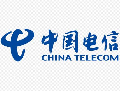 China Telecom logotype, Photographer / Source  China Telecom