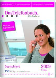 DasTelefonbuch Frühjahr 2009 (Packshot, 2D)